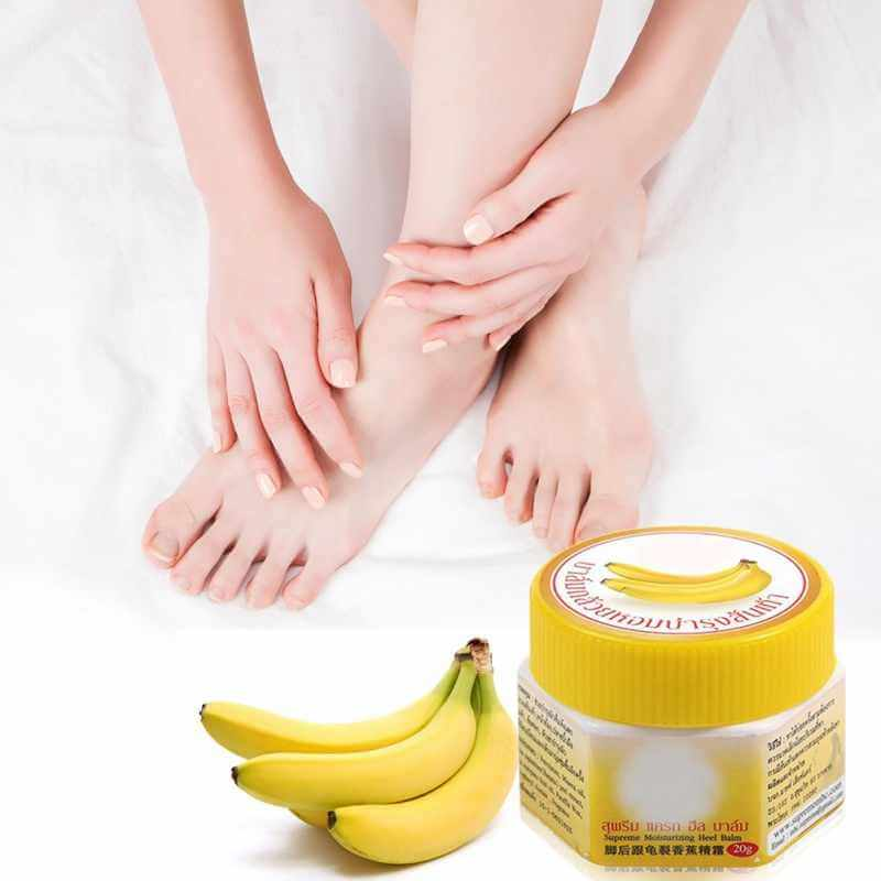 banana mask for feet