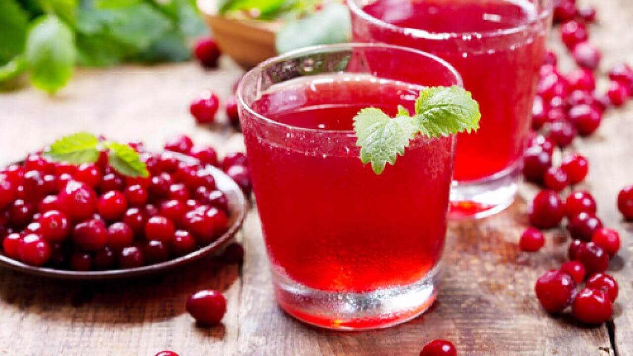 cranberry healthy drink