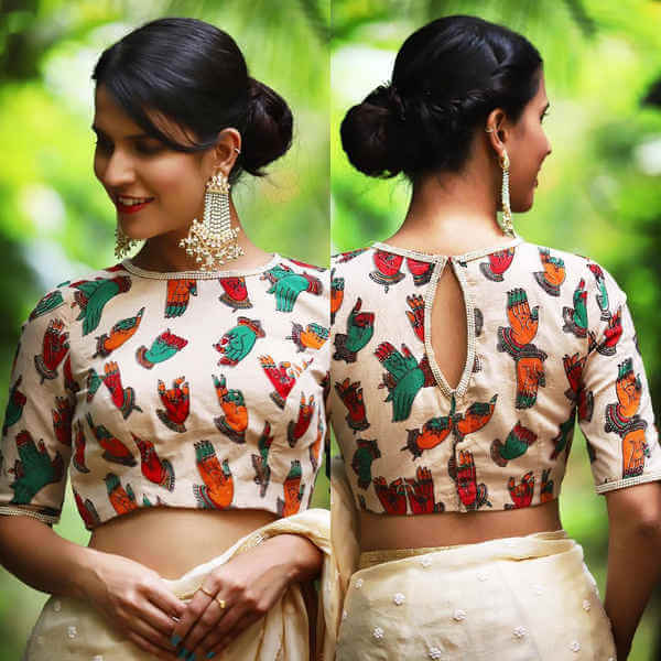 Mdern blouses for party wear