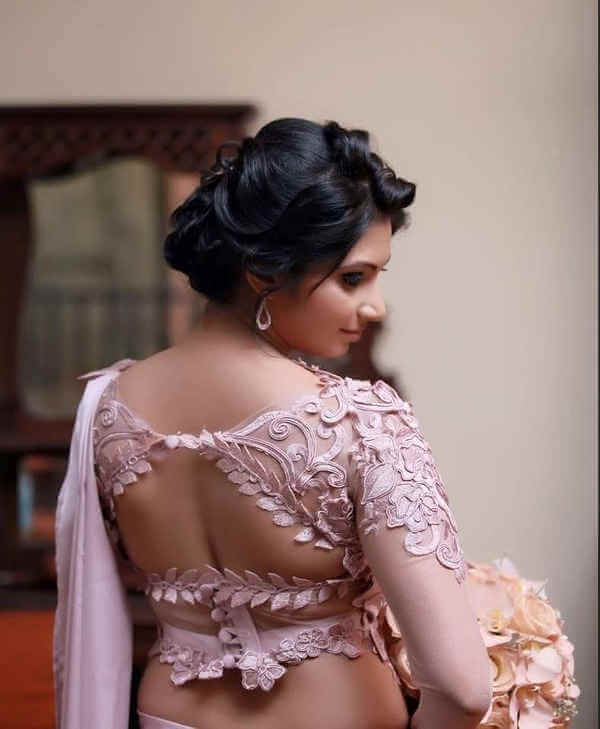 Look special in wedding by designer blouse