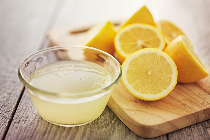 lemon juice for tan
