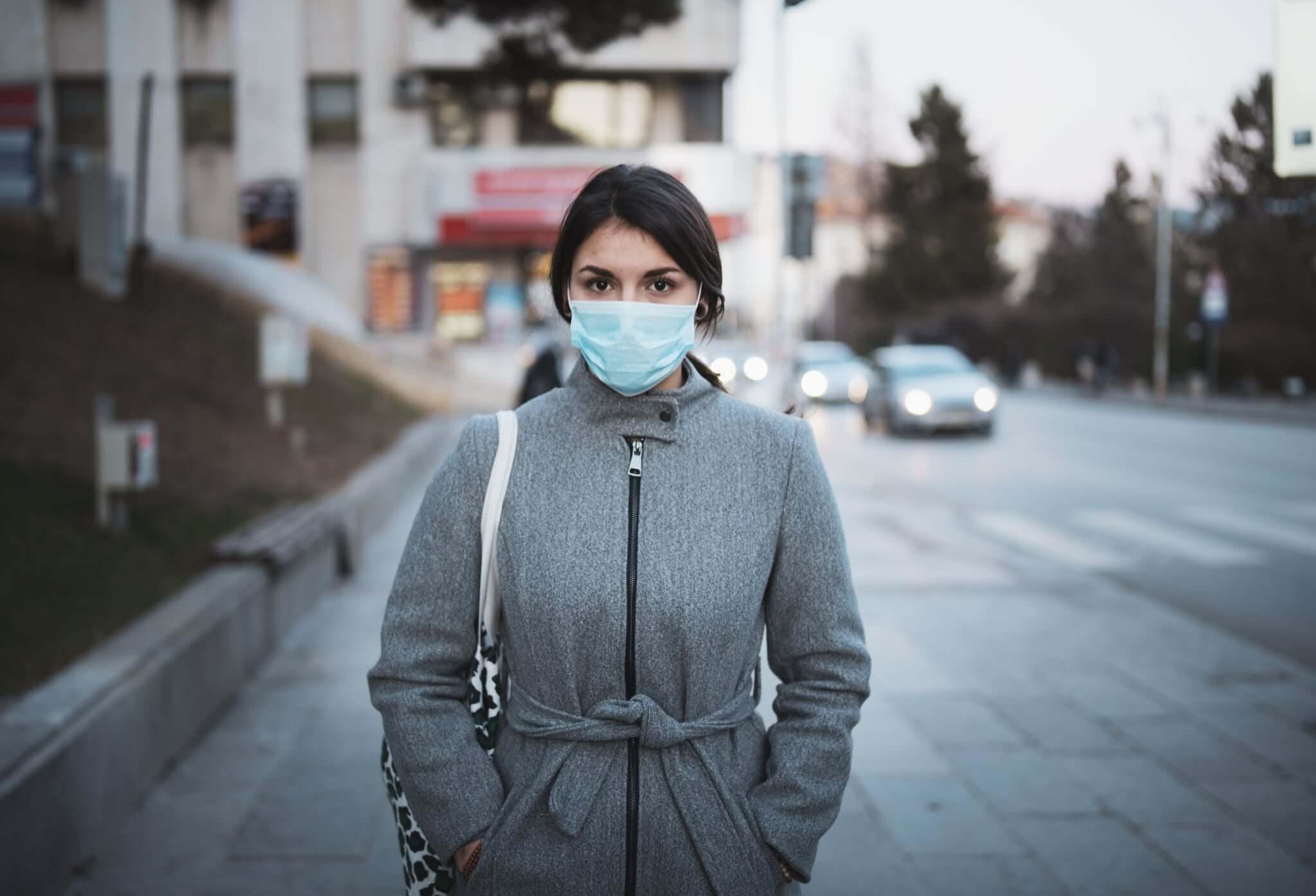 prepare face mask