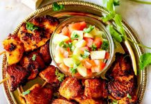 Tandoorian fish tikka recipe