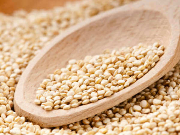 Have a healthy food with cereals or millets