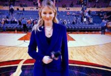 American sports anchor Kristen Ledlow