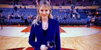 American sports anchor Kristen Ledlow
