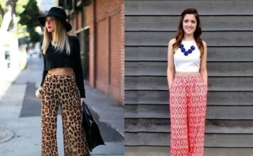 fashionable outfits for palazzo