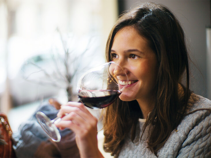 health benefits of red wine for women
