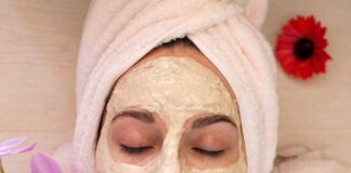 anti ageing face pack