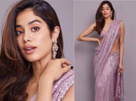 Janhvi Kapoor's saree collection