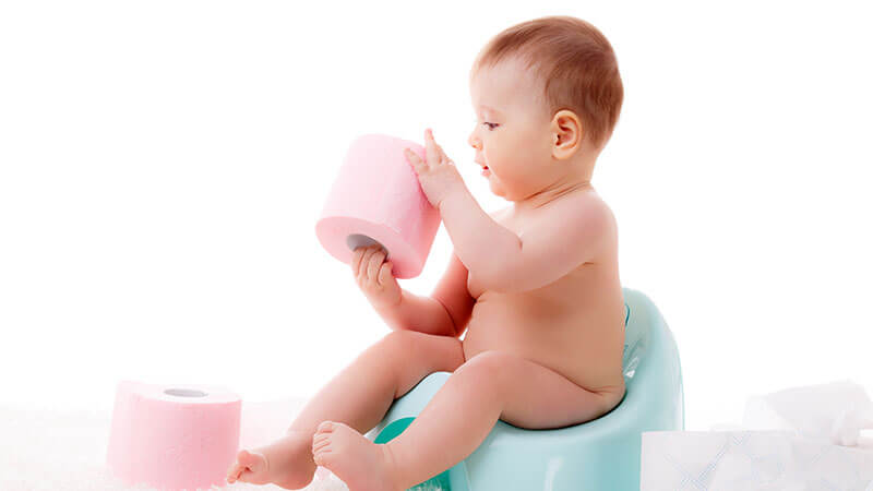 Raising a baby without diapers