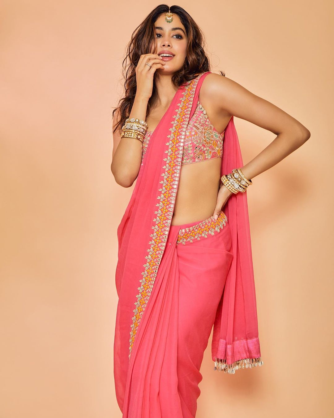Janhvi Kapoor stylish sarees