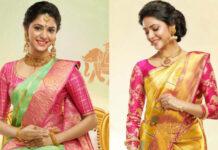 Silk saree blouse designs collection